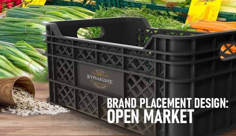 brand placement design open market