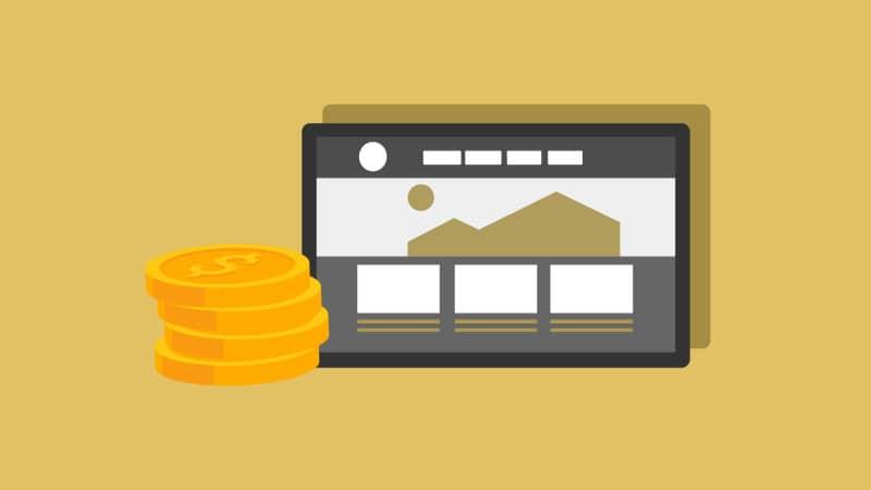 κόστος διαφήμισης ιστοσελίδων