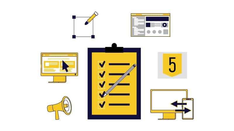 adaptive and responsive website design