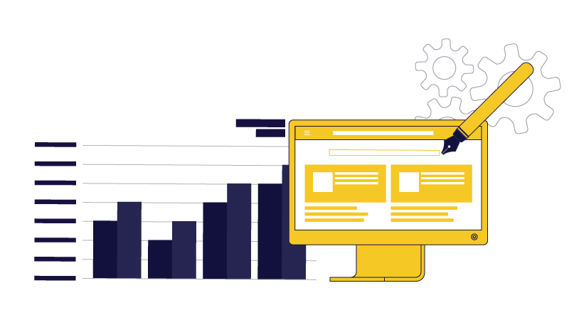 Customized website design and web development vs templates