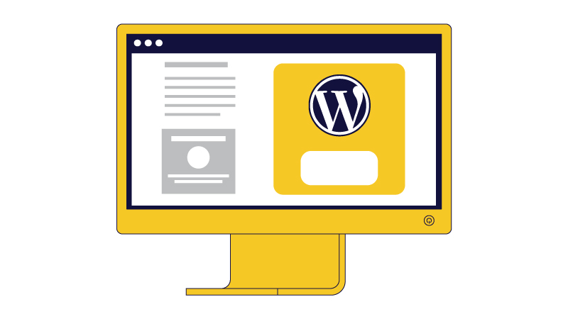 wordpress for websites how it works